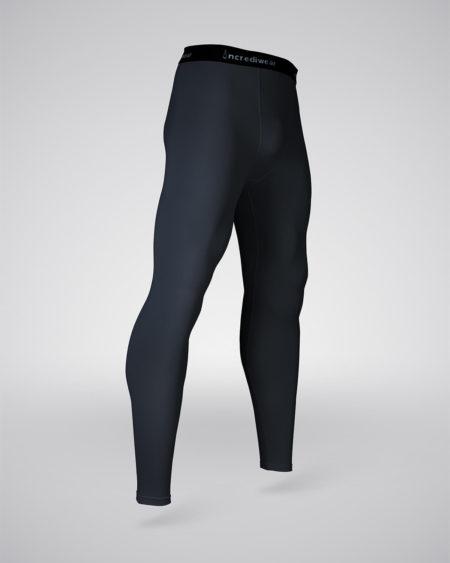 pantalón entrenamiento hombre negro cuarto