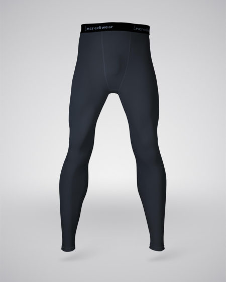 pantalón entrenamiento hombre negro frontal