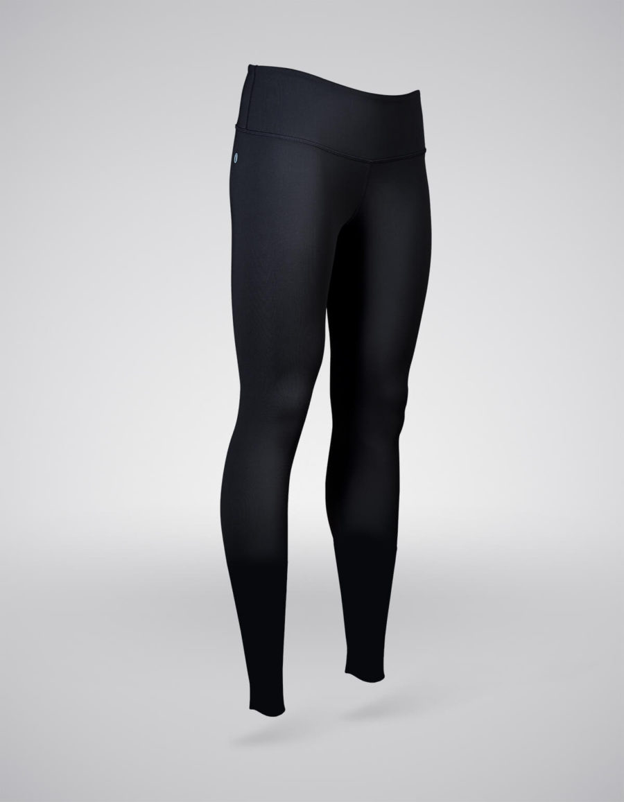 pantalon entrenamiento mujer negro cuarto