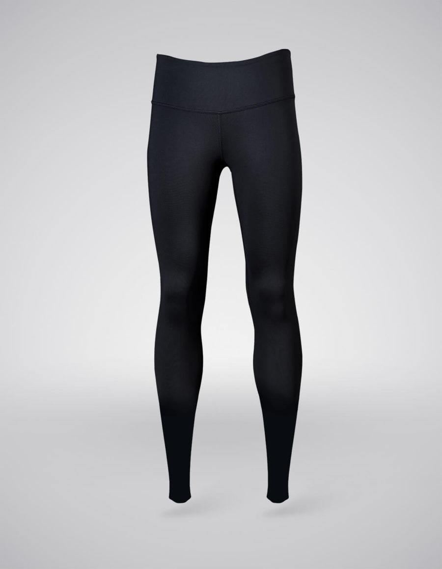 pantalon entrenamiento mujer negro frontal